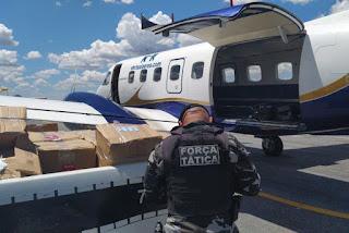 NAC suspende autorização de operação de empresa de táxi aéreo que estava com  cocaína em Catolé do Rocha na Paraiba.