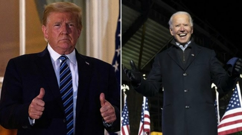 US election results 2020: Donald Trump goes to court after Joe Biden's victory in major states