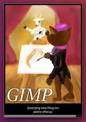 New Design of Gimp Splash Screen