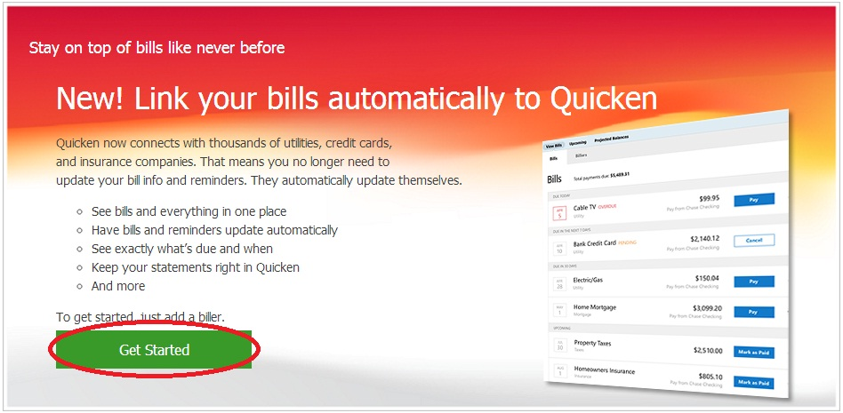 Get Started Quicken - Quicken Tips