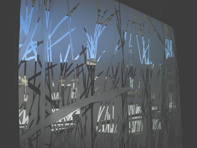 Sandblasted Glass & Mirror