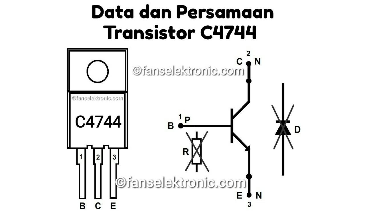 Persamaan Transistor C4744