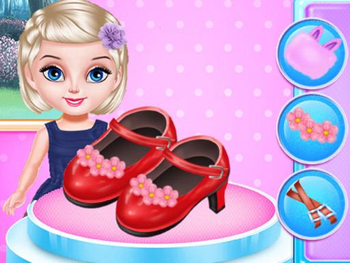 أحذية الأميرة الصغيرة تصميم الأزياء