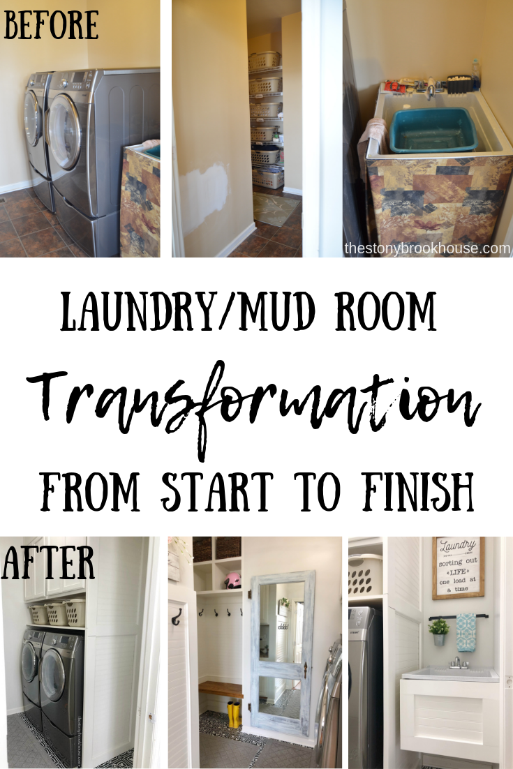 Laundry Room Makeover From Start To Finish