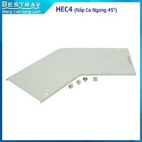 Bestray | Máng Cáp Dạng Lưới | Co, Tê | Nắp Co Ngang 45 Độ (HEC4)