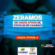 Caxingó é a 1ª cidade do Piauí a zerar pela segunda vez os casos ativos de covid-19