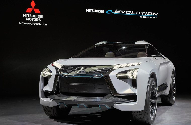 Mitsubishi e-Evolution Concept Akan Mejeng Di GIIAS 2018