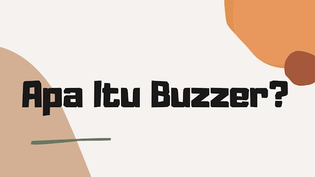 Pengertian buzzer