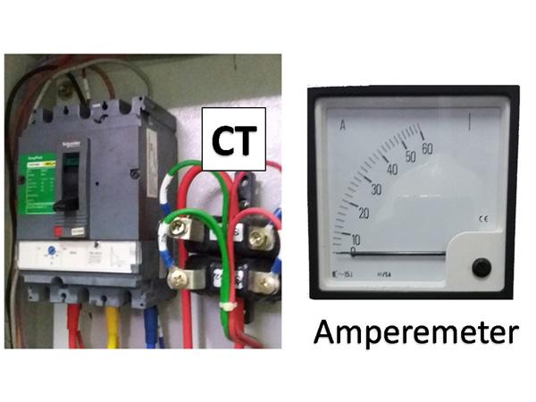 Amperemeter, CT, rasio, dan cara menghitungnya
