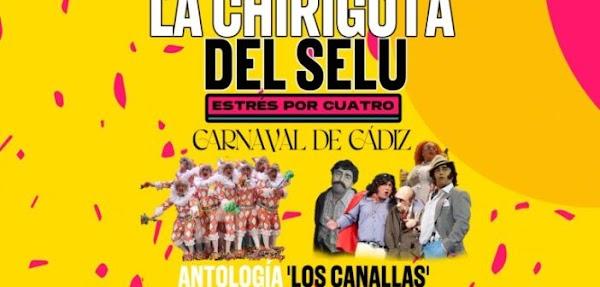 Noche de Carnaval en Islantilla con la 'Chirigota del Selu' el 22 de agosto
