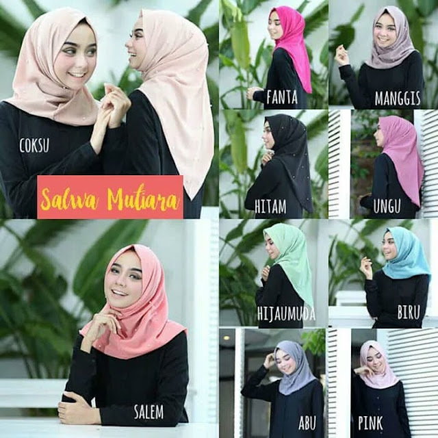 Jilbab Instan Salwa Mutiara Murah