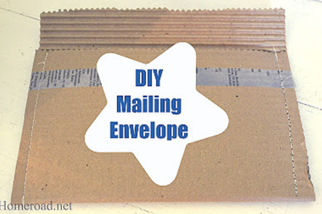 How to Make a Mailing Envelope Package