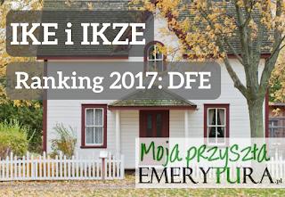 Ranking IKE i IKZE z dobrowolnym funduszem emerytalnym 2017
