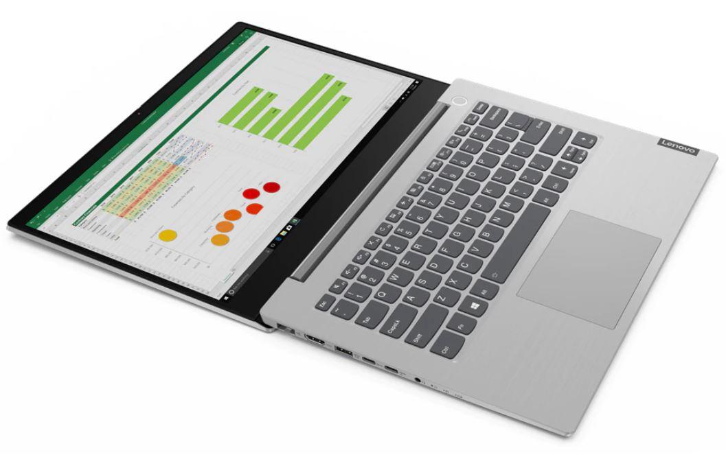 Lenovo ThinkBook 14 IIL MPID, Laptop Bisnis Tipis Bertenaga Core i7-1065G7