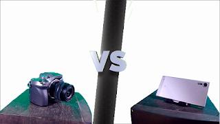 kamera lumix g7 vs kamera smartphone android sony xzs