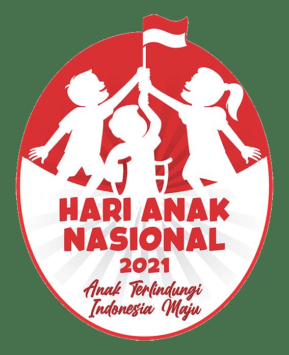 logo hari anak nasional 2021 png