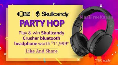 Party HOP Amazon Contest