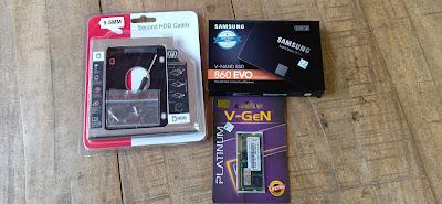 Mengganti HDD & Upgrade RAM Laptop