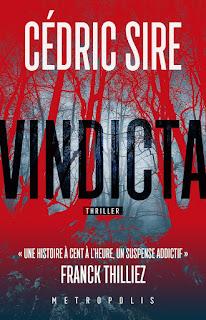 Couverture du livre Vindicta de Cédric Sire