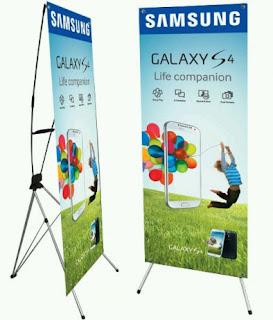 Jasa dan Layanan Cetak EX Banner | Jasa dan Layanan Printing EX Banner | Printing X Banner Online 24 Jam | Harga Banner Permeter
