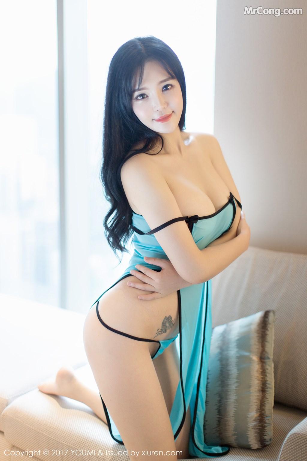 Image YouMi-No.067-Liu-Yu-Er-MrCong.com-044 in post YouMi No.067: Người mẫu Liu Yu Er (刘钰儿) (45 ảnh)