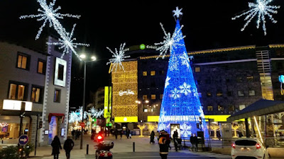 Andorra la Vieja en Navidad
