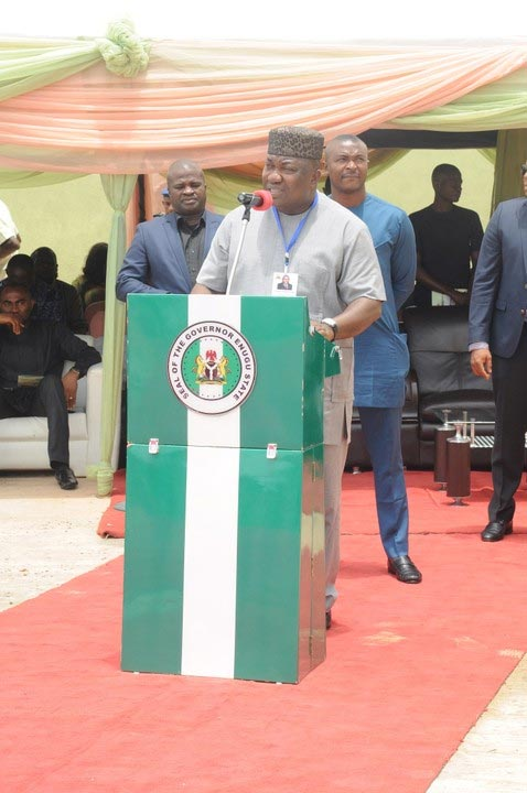 Photos: Governor Ugwuanyi launches Science & Tech academy in Enugu