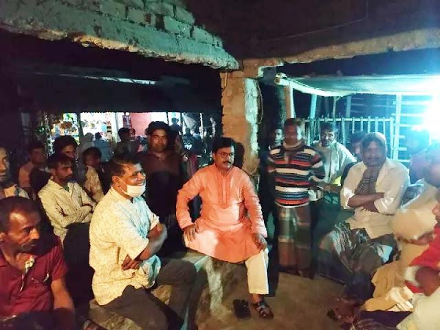 গঙ্গানন্দপুর ইউনিয়নে গনসংযোগ করেন এমপি প্রতিনিধি আমিনুর রহমান