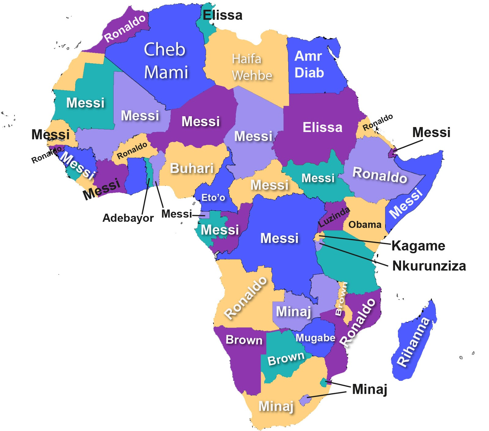 Which Person Your African Country D The Most