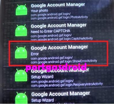 Mengembalikan email dan password pada HP Samsung terkunci