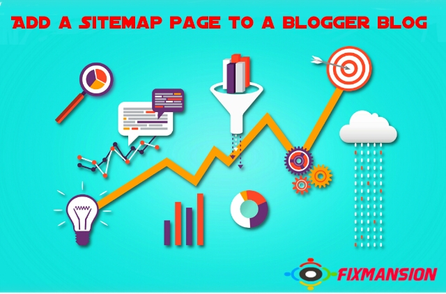 how to add a stylish sitemap page to a blogger blog fancybloggertricks