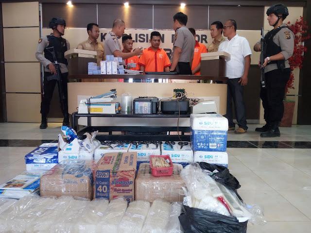 Polisi Ungkap Kasus Penipuan Bermodus Kupon Undian