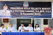 Walikota Manado Tegaskan Camat, Lurah dan Kepala Lingkungan Kuasai Batas Wilayah