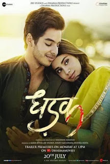 Dhadak (2018) Full Movie download in 720p HDRip