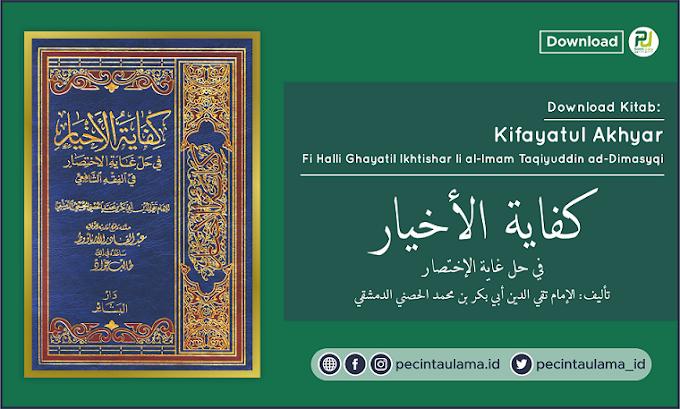 Download Kitab Kifayatul Akhyar