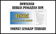 Download Berkas Pengajuan BSM Format Terbaru 2019