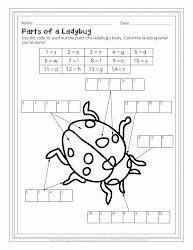 ladybug label puzzle puzzles labels ladybugs xblog labeling chart perplexing read january hope these