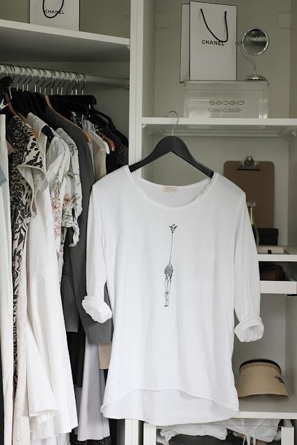 annelies design, webbutik, webbutiker, webshop, nätbutik, inredning, giraff, tshirt, sixty days, walk in closet