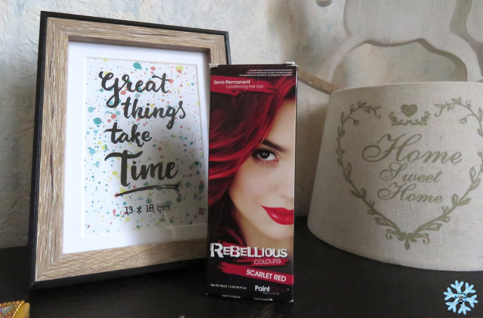 Rebellious Color couleur Scarlet Red