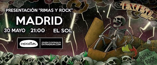 Exceso, Rimas, Rock, Concierto, Madrid, Sala Sol