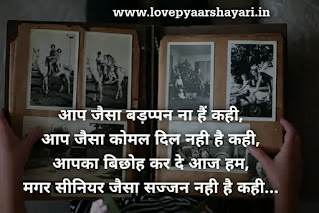 farewell shayari for school students in hindi