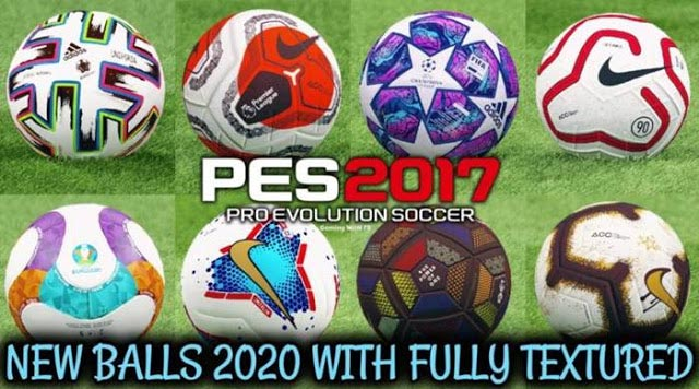 New Ballpack 2019-2020 Fully Textured PES 2017
