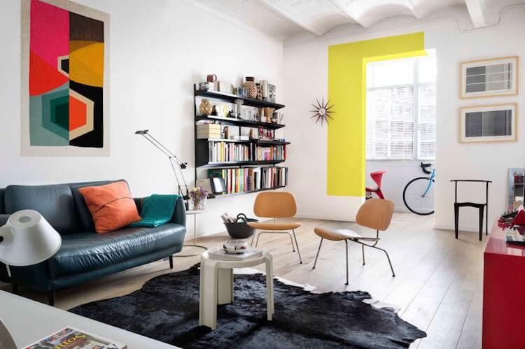salón apartamento familiar
