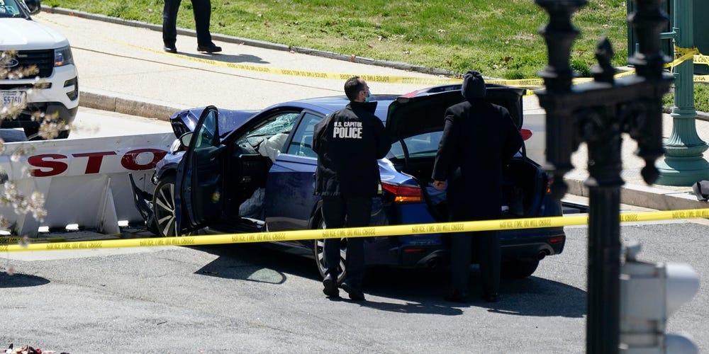 Agentes de la Policía del Capitolio de EE. UU.