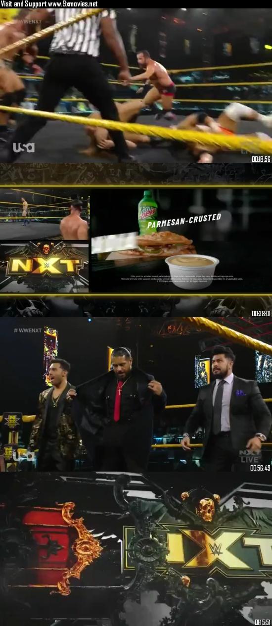 WWE NXT 20 July 2021 WEBRip 480p 350MB