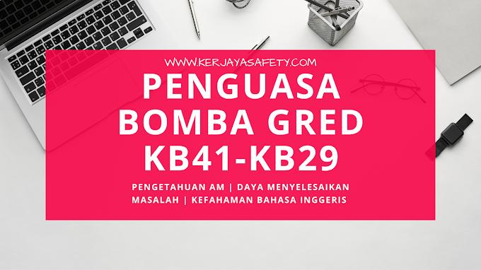 Contoh Soalan dan Nota Pengetahuan Am Penguasa Bomba KB41