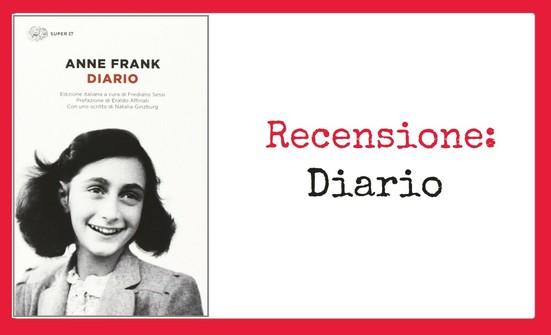 Recensione: Diario di Anne Frank