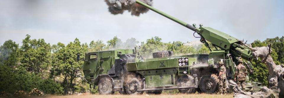 США розглянуть САУ CAESAR в якості заміни гаубиць M777A2