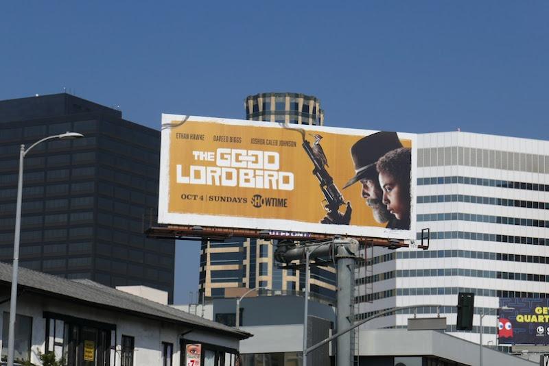 Good Lord Bird TV billboard