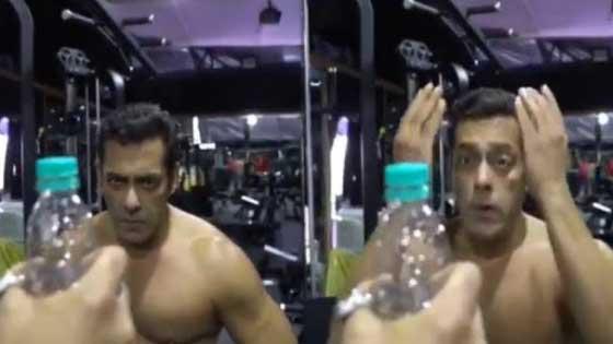 Salman Khans Bottle Cap Challenge